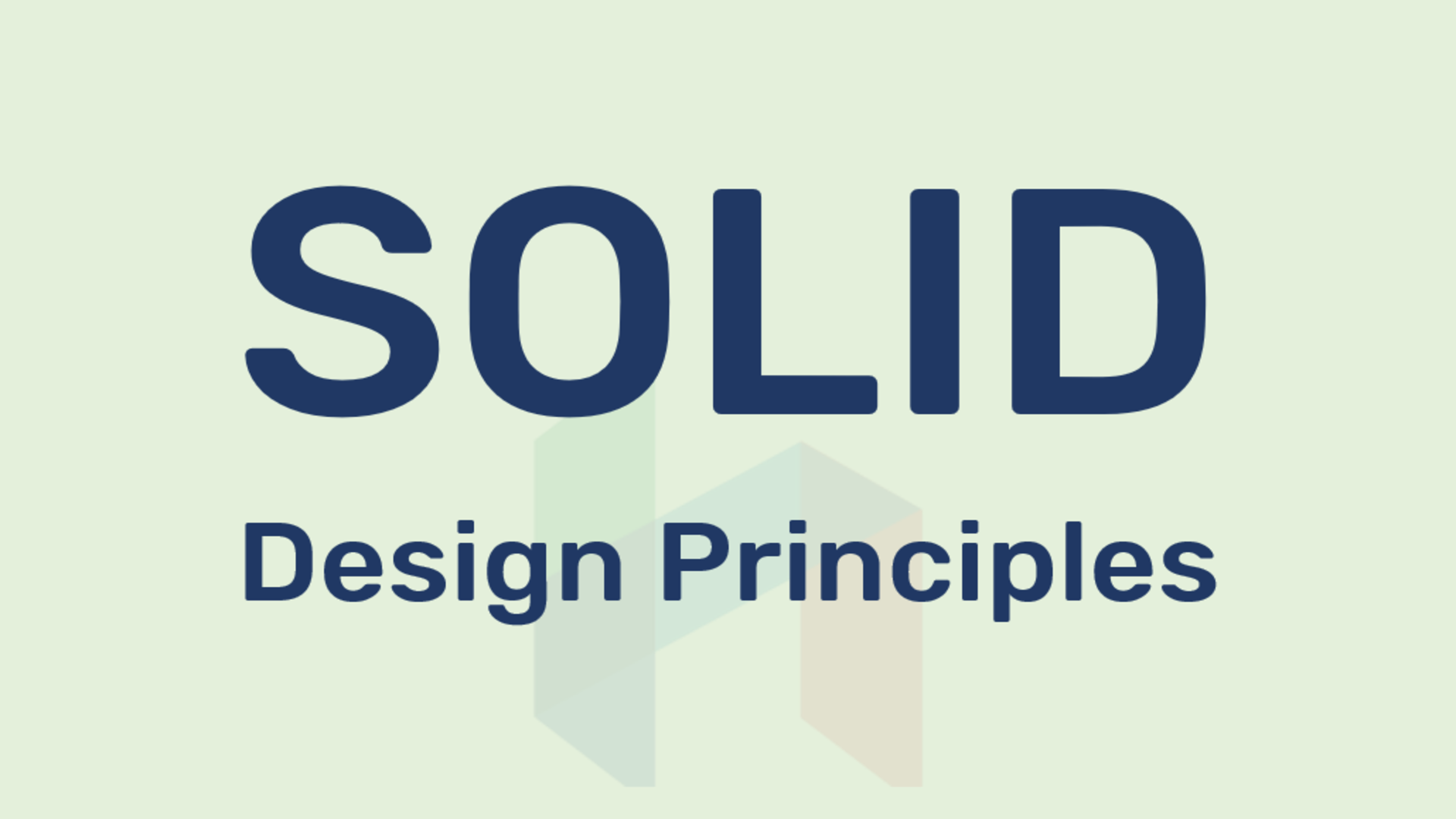 , SOLID: 5 Design Principles of Object-Oriented programming for clean code